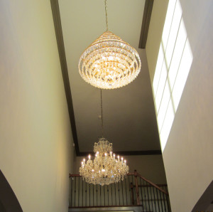 About chandelier