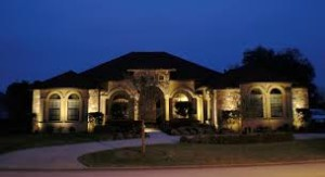 Landscape Lighting large home